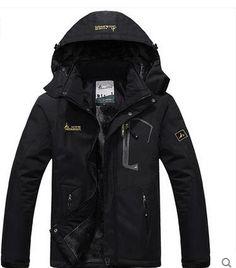 69.99$  Watch here - http://alih16.worldwells.pw/go.php?t=32754859602 - masculina men's casual thick outwear overcoat Winter jacket Men Windproof Hood parka mens jackets and coats windbreaker
