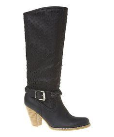 Black Angela  Boot #zulily #zulilyfinds