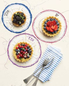 Perfect for a party, these individual berry desserts are easy to customize.