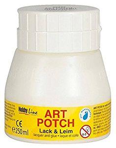 Kreul 49252 - Art Potch Lack und Leim 250 ml: Amazon.de: Küche & Haushalt