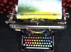 chromatic typewriter. oooo.