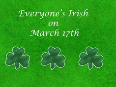 St. Patty's Day Backgrounds | Everyone can be Irish on St Patrick's Day
