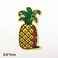 New to craftapplique on Etsy: Fruit patches watermelon banana Sunflower Cherry Pineapple Tree Parachute funny patch lovely patch cute Embroidery iron on sew on USD) Funny Patches, Cool Patches, Sew On Patches, Iron On Patches, Wholesale Promotional Products, Cute Embroidery, Dot Painting, Letters And Numbers, Badge