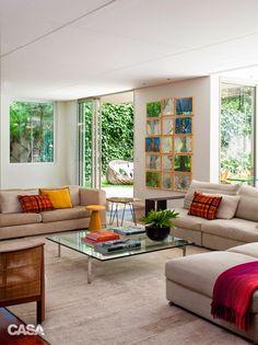 Casa com lindo jardim