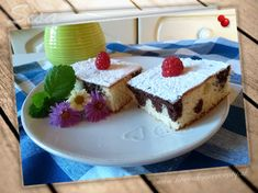 Bábovka na plechu. Cheesecake, Desserts, Food, Hampers, Meal, Cheesecakes, Deserts, Essen, Hoods
