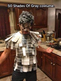 Here's a creative #Halloween costume for #men  shared from @tinkdesigns