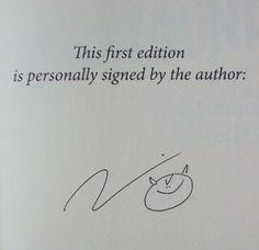 Larry Correia's Signature (author of The Grimnoir Chronicles)