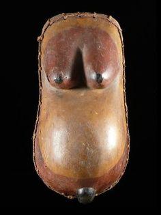 Mask Ndimu female belly - Makonde - Tanzania