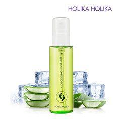 [Holika Holika] Aloe Cooling Foot Mist 100ml Odor reduction / Korean Cosmetic #HolikaHolika