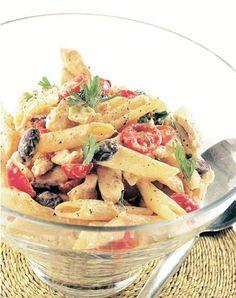 Cocina – Recetas y Consejos Pasta Recipes, Salad Recipes, Chicken Recipes, Healthy Recipes, Toscana Italia, Salty Foods, International Recipes, How To Cook Pasta, Italian Recipes
