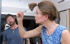 Cut your own hair - layered cut