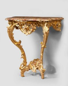 Louis XV Giltwood Console Table (Ref No. 3776) - Windsor House Antiques