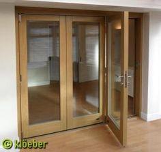 wm_c1000xInternal bi fold doors Kloeber 1.jpg by McFarland & Image result for glass partition internal doors in terraced house ... pezcame.com