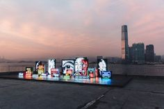 "Take a Look at Vhils' ""Debris"" Art Installation in Hong Kong"