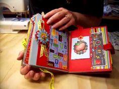 School Days Paper Bag Album