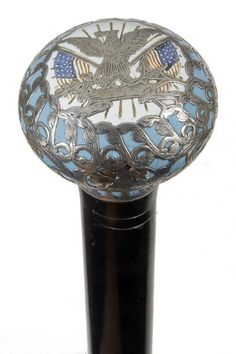 54. American Patriotic Cane-Early 20th Century-The : Lot 0054