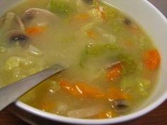 Cinco Quartos de Laranja: Sopa de Legumes com arroz