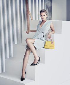 オスカー女優ジェニファー・ローレンスによる、アイコンバッグ「Be Dior」の新広告ヴィジュアル公開   ニュース - ファッションプレス