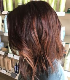 Fall Chocolate Brown and Auburn Hair. Are you looking for auburn hair color hairstyles? See our collection full of auburn hair color hairstyles and get inspired!