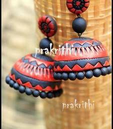 Buy terracotta jewellery hoop online