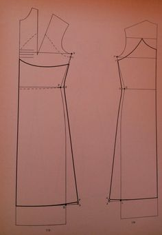 I Quaderni di Studio Manie: CARTAMODELLI-PATTEN Sottoveste vestiti