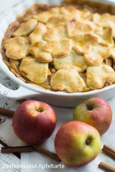 Spiced Apple-Pie, ein Klassiker, der immer und überall geht und der einfach Allen schmeckt - zu jeder Jahres-, Tages- und Nachtzeit