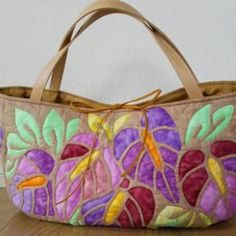 Hawaiian Quilts, Quilted Bag, Fabric Bags, Tote Bag, Fabric Handbags, Tejidos, Fabric Purses, Backpack, Canvas Bags