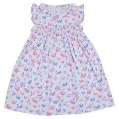 Kissy Kissy - Butterfly Dreams Print Sleeveless Dress - Toddler www.atterdagkids.com