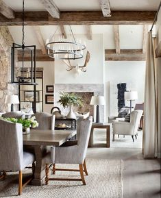 Inviting mountain home defined by cozy warmth in the Colorado Rockies