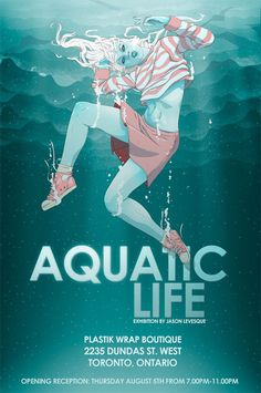 Aquatic Life -  Flyer Design