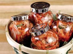 Learn how to make a simple kimchi and the right way of bottling them!