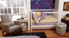 How to create a nursery within master bedroom.