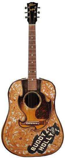 Buddy Holly's 1944 Gibson J-45 - this guitar shaped musical history.