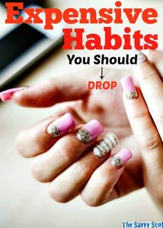 Expensive Habits You Should Drop #tips #savings http://savvyscot.com/expensive-habits-you-should-drop/