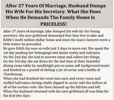 After 37 Years Of Marriage, Husband Dumps His Wife For His Secretary. What She Does When He Demands The Family Home Is Priceless! | Healthy Life Tricks