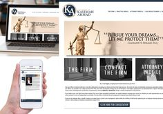 A great web design by Mo Camara, New York, NY: Website, Other, Legal , Wordpress