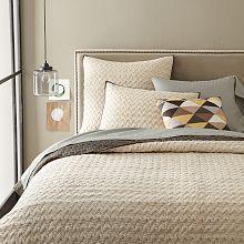 White Bedding, White Sheets & Neutral Bedding | West Elm