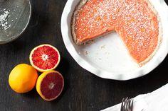 Blood Orange Curd plus tart recipe (freeze)