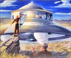 In November 1952 Williamson, Adamski, and five others ushered in the ' contactee era' by allegedly conversing with a Venusian near Desert Center, California. Description from visupview.blogspot.com. I searched for this on bing.com/images