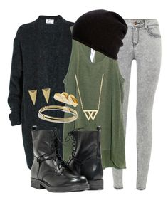 Loki Insp. Casual Outfit by lauloxx on Polyvore featuring Acne Studios, Wilt, Paolo Shoes, David Yurman, Sole Society, Alexis Bittar, Belmondo, Fall, casual and marvel