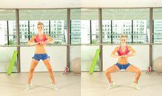 Calf slimming exercises Calves squat