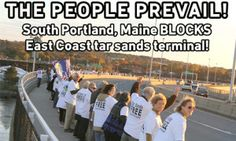 Historic Win in Maine's Battle Over Tar Sands