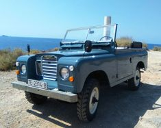 1977 Land Rover Santana 88 soft top. By Santana Motor Spain.