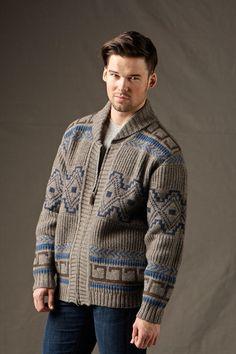 Pendleton ® Mens Lambswool Cardigan Sweater