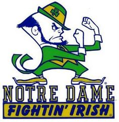 Notre Dame Football, best part about Saturdays!