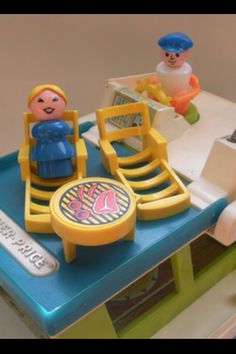 Fisher Price Little People Boat Sundeck.  Livin' the Life.