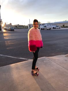 Together with her husband, adventurous fashion designer Lisa Perry headed to the thriving, artsy Texas town of Marfa for an inspiring weekend. Marfa Texas, Fur Clothing, Adventure Style, Barneys New York, Style Me, Fur Coat, Lisa, Husband, Window