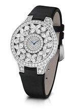 Graff : timepiece from its Luxury Watches 2013 collection : pretty bejewelled Butterfly model.