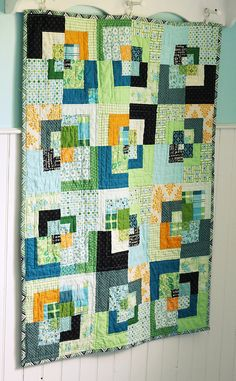 bento box quilt ... love the colors!