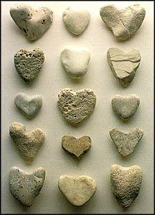 Stone Hearts #2 Notecard.